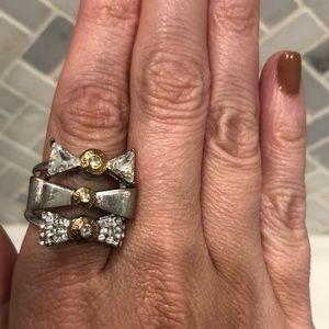 Henri Bendel Ring Set